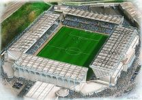 The Den Stadia Fine Art Print - Millwall Football Club
