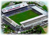 Ninian Park Stadia Fine Art Print - Cardiff City Football Club