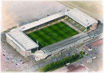 Carrow Road Stadia Fine Art Print - Norwich City Football Club