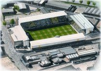 Meadow Lane Stadia Fine Art Print - Notts County Football Club