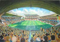 Molineux Stadium Fine Art Print - Wolverhampton Wanderers Football Club