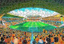 Molineux Stadium Fine Art Jigsaw Puzzle - Wolverhampton Wanderers Football Club
