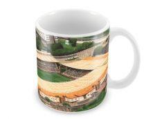 Molineux Stadia Fine Art Ceramic Mug - Wolverhampton Wanderers Football Club