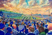 Cappielow Stadium Fine Art Print - Greenock Morton Football Club