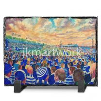Cappielow Park Stadium Fine Art Slate Presentation - Greenock Morton Football Club