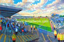 Moss Rose Stadium Fine Art Print - Macclesfield Town Football Club