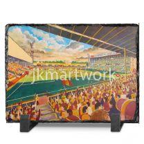 Fir Park Stadium Fine Art Slate Presentation - Motherwell Football Club