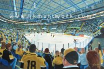 National Ice Centre Stadium Fine Art Print - Nottingham Panthers Ice Hockey