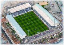 Fratton Park Stadia Fine Art Print - Portsmouth Football Club