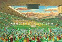 Parkhead NEW Stadium Fine Art Print - Celtic Football Club
