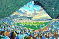 Elland Road NEW Stadium Fine Art Print - Leeds United Football Club