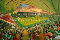 Home Park Stadium Fine Art Print - Plymouth Argyle Football Club