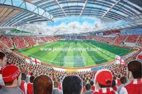 New York Stadium Fine Art Print - Rotherham United Football Club
