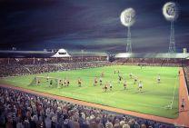 St James' Park Stadium Fine Art Box Canvas Print 'v Feyenoord Fairs Cup 1968' - Newcastle United Football Club
