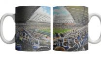 St James' Park Stadium Fine Art Ceramic Mug - Newcastle United Football Club