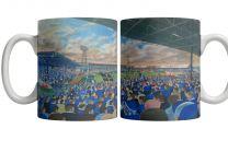 Ninian Park Stadium Fine Art Ceramic Mug - Cardiff City Football Club