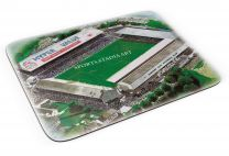 Ninian Park Stadia Fine Art Mouse Mat - Cardiff City Football Club