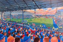 Boundary Park Stadium Fine Art Print - Oldham Athletic Football Club