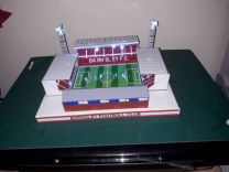 Oakwell Stadium Handmade Model - Barnsley Football Club