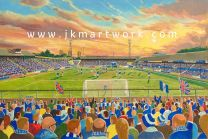 Old Den Stadium Fine Art Print - Millwall Football Club