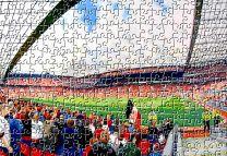 Old Trafford Stadium Fine Art Jigsaw Puzzle - Manchester United Football Club