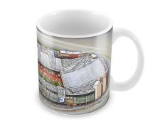 Old Trafford Stadia Fine Art Ceramic Mug - Manchester United Football Club