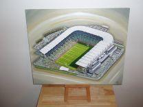 Croke Park Stadium Fine Art Original Oil Painting - Gaelic Athletics Association