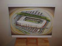 Liberty Stadium Fine Art Original Oil Painting - Swansea City Football Club