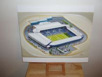 The Hawthorns Stadium Fine Art Original Oil Painting - West Bromwich Albion Football Club