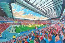 Philips Stadium Fine Art Print - PSV Eindhoven Football Club