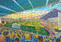 Pirelli Stadium Fine Art Jigsaw Puzzle - Burton Albion Football Club