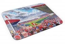 Pittodrie Stadium Fine Art Mouse Mat - Aberdeen Football Club