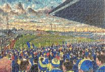 Plough Lane Stadium Fine Art Jigsaw Puzzle - Wimbledon Football Club