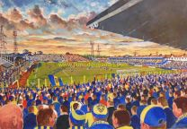Plough Lane Stadium Fine Art Print - AFC Wimbledon