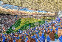 Portman Road Stadium Fine Art Jigsaw Puzzle - Ipswich Town Football Club