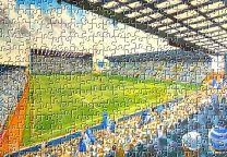 Prenton Park Stadium Fine Art Jigsaw Puzzle - Tranmere Rovers Football Club