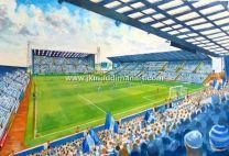 Prenton Park Stadium Fine Art Print - Tranmere Rovers Football Club