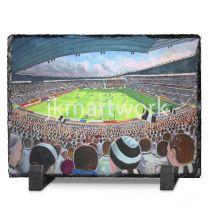 Pride Park Stadium Fine Art Slate Presentation - Derby County Football Club