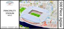 Principality(Millennium) Stadia Fine Art Jigsaw Puzzle - Wales Rugby Union