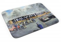 Proact Stadium 'Going to the Match' Fine Art Mouse Mat - Chesterfield Football Club
