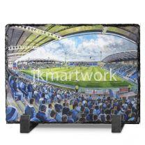 Proact Stadium Fine Art Slate Presentation - Chesterfield Football Club