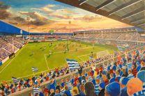 Loftus Road Stadium Fine Art Print - Queens Park Rangers Football Club