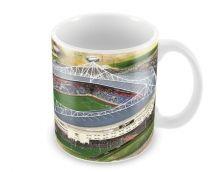 Reebok Stadia Fine Art Ceramic Mug - Bolton Wanderers Football Club
