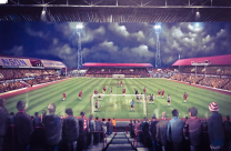 Ayresome Park Stadium Fine Art Box Canvas Print 'Remembering Ayresome Park' - Middlesbrough Football Club