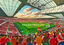 Riverside Stadium Fine Art Print - Middlesbrough Football Club