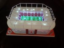 Riverside Stadium Handmade Model - Middlesbrough Football Club