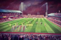 Roker Park Stadium Fine Art Box Canvas 'From the Fullwell End' - Sunderland Football Club