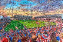 Roker Park Stadium Fine Art Jigsaw Puzzle - AFC Sunderland