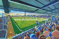 Roots Hall Stadium Fine Art Print - Southend United Football Club