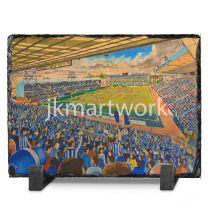 Rugby Park Stadium Fine Art Slate Presentation - Kilmarnock Football Club